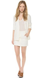 Draped Suiting Jean Stitch Blazer at Robecart
