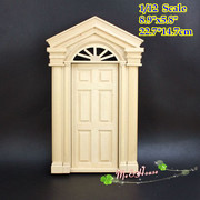 1/12 scale Dollhouse Miniatures Wood Federal Revival Front Door