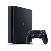 Sony PlayStation 4 Slim 500GB - PS4 Jet Black Console (New Retail Box